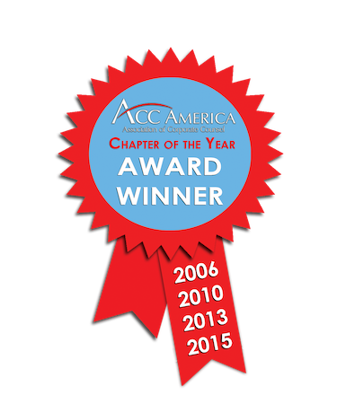 ACC Chapter of the Year, 2006, 2010, 2013, 2015